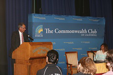 Tom Nazario Speaks at the Commonwealth Club of California