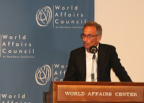 Tom Nazario at the World Affairs Council in San Francisco