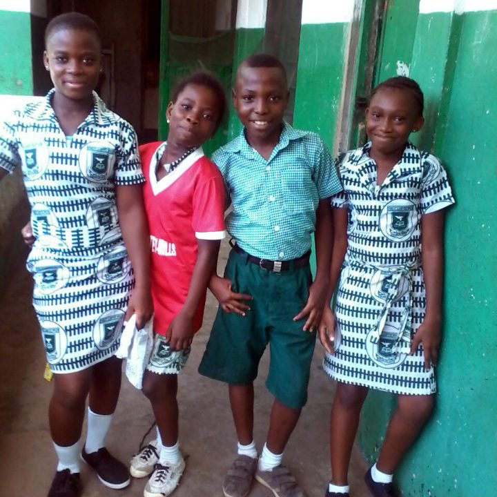 Ghana students, TFI