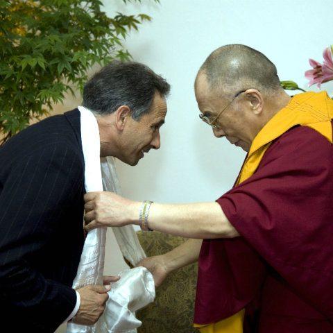 Dalai Lama, Tom Nazario